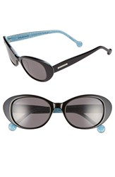 Women's Jonathan Adler 'Palm Beach' 53Mm Cat Eye Sunglasses