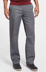 Men's Volcom Modern Chinos Charcoal Heather