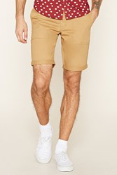 Forever 21 Cuffed Woven Shorts