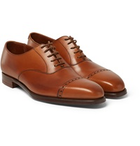 George Cleverley Charles Leather Oxford Shoes