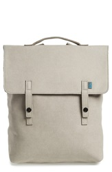 M.R.K.T. 'Carter' Water Resistant Backpack Stone Grey