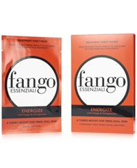 Borghese Pre Sale Fango Essenziali Sheet Mask 4 Pack Energize Only At Macys No Color