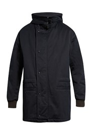 Marni Loose Fit Padded Parka Navy