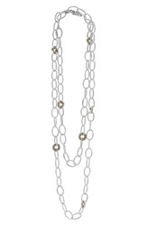 Women's Lagos 'Enso' Long Station Necklace