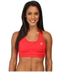 Adidas Techfit Bra Ray Red Matte Silver Women's Bra