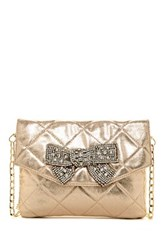 Deux Lux Forever Clutch Metallic