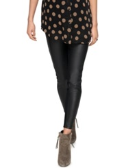 A Pea In The Pod Maternity Faux Leather Pants Black