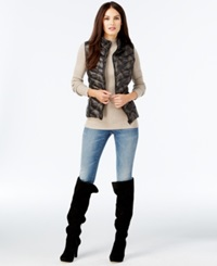 Inc International Concepts Reversible Puffer Vest Only At Macy's