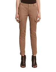 Lauren Ralph Lauren Skinny Cargo Pants Brown