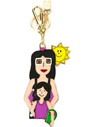 Dolce And Gabbana Family Keyring Multicolour