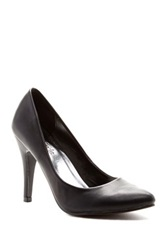 Red Circle Bambi Point Toe Pump Black