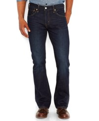 Levi's Men's 527 Slim Bootcut Fit Jeans Indigo Black