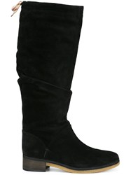 See By Chloe 'Jona' Flat Knee Boots Black