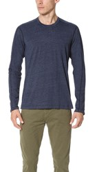 Splendid Mills Triblend Jersey Long Sleeve Crew