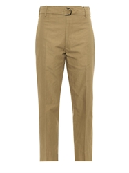 Isabel Marant Onos Cotton Blend Cropped Trousers