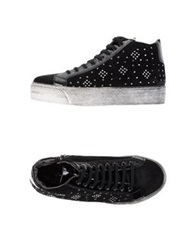 High Tops And Trainers Black