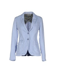 At.P. Co At.P.Co Suits And Jackets Blazers Women Sky Blue