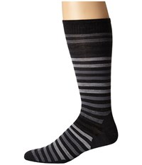 Smartwool Spruce Street Crew Charcoal Men's Crew Cut Socks Shoes Gray