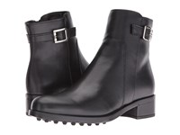 La Canadienne Shelby Black Leather Women's Boots