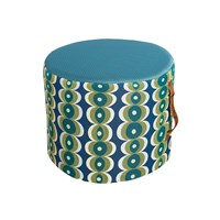 Desigual Patch Pouf Blue