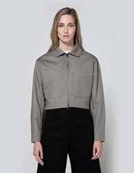 Christophe Lemaire Zipped Jacket In Stone