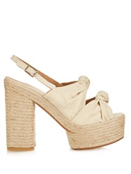 Castaner Abbey Knot Detail Platform Sandals