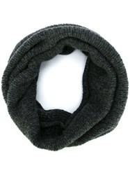 Roberto Collina Wrapped Scarf Grey