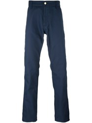 Carhartt Straight Trousers Blue
