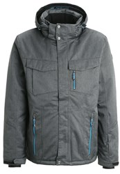 Killtec Kimo Ski Jacket Anthrazit Melange Mottled Anthracite