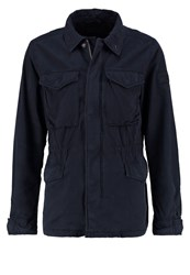 Abercrombie And Fitch Summer Jacket Navy Dark Blue