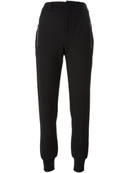 Mcq By Alexander Mcqueen Tailored Track Pants Black