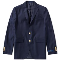 Polo Ralph Lauren Doeskin Blazer Blue