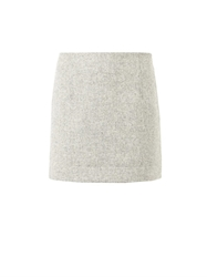 Atto Textured Wool Mini Skirt