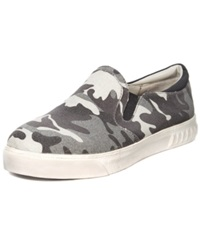 Circus By Sam Edelman Cruz Slip On Sneakers Women's Shoes Slate Grey Camo