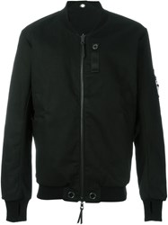 11 By Boris Bidjan Saberi Reversible Bomber Jacket Black
