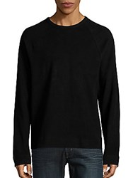 James Perse Raglan Sweatshirt Black