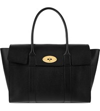 Mulberry Bayswater New Leather Tote Black