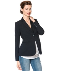 A Pea In The Pod Notched Lapel Tailored Maternity Blazer