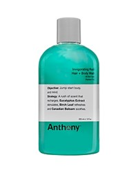 Anthony Logistics For Men Anthony Invigorating Rush Hair And Body Wash 12 Oz. No Color