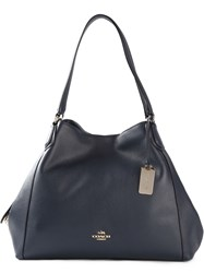 Coach 'Edie' Tote Bag Blue