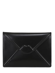 Lulu Guinness Catherine Lips Envelope Clutch