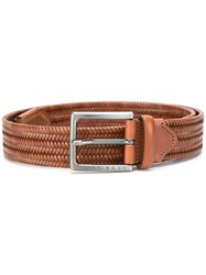 Hugo Boss 'Semyo' Belt Brown