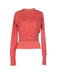 Amy Gee Knitwear Cardigans Women Coral