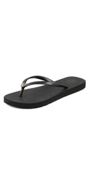 Tory Burch Thin Flip Flops Black