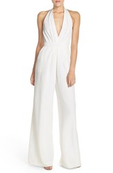 Women's Jill Jill Stuart Backless Halter Neck Jumpsuit