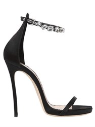 Dsquared 120Mm Debra Swarovski And Satin Sandals