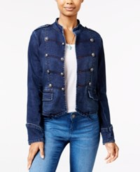 American Rag Hayes Wash Denim Band Jacket Only At Macy's