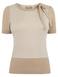 Oasis Margot Jacquard Cute Knit Jumper Multi