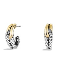 Labyrinth Single Loop Earrings With Gold David Yurman
