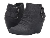Blowfish Bug Grey Two Tone Flannel Women's Boots Gray